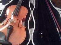 Gentley used 2002 Samuel Eastman viola. Model VA 80.