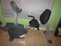 Very good condition / almost new recumbent bike. Bought