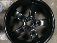 $150 for sand blasting and powder coating a set of