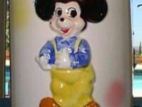 SERIOUS BUYERS ONLY, PLEASEVintage DISNEY LOLLY POP JAR