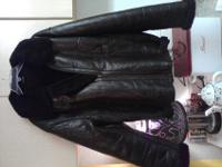 Selling a Mens WWII B-3 Style Bomber/Motorcycle Jacket