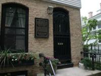 The Biddle House is located in Historic Old Town on a