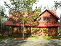Gorgeous custom 5 bd 3 bath log home! The spacious