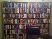 tons of dvds excellent conditon all must go $5per dvd a