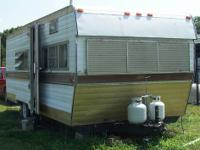Asking $1800.00 OBO for this 22' tandem axle Camper, it
