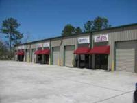 Nice office warehouse with 1500 ft. large roll up and