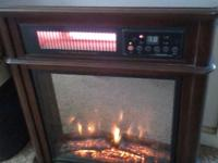 The Hearth Trends 1,500W Infrared Electric Fireplace