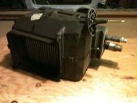 FOR SALE1 Heater/AIR CONDITIONED core assembly1 Blower