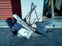 Parting out many V-6 johnson evinrude outboards see my
