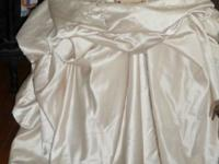 I have a Oleg Cassini wedding dress for sale. This