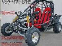 Go Kart 150cc 4 stroke engine Honda cloned engine Cvt