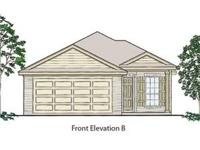 3 bed room, 2 bath 1 story. Kitchen with big