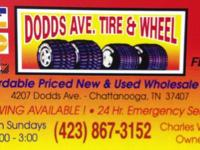 AD#3 DODDS AVE TIRE AND WHEEL A REAL WORKING WEARHOUSE