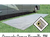 RV Camper RV Parts Prest-O-Fit Awning Outdoor Mat 7.5'