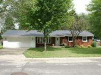 Move in ready ranch style home located on the east