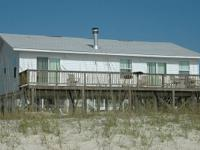 Gulf Coast Beach front house on top 10 private beach
