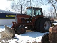 I have a 1586 International with a 10 ft. dozer blade.