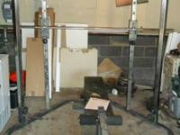 PROFORM 660 WEIGHT BENCH /RACK SYSTEM WITH MANUAL
