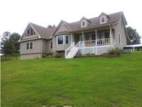Beautiful 2-story home on nearly 3 acres. Three