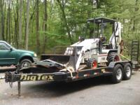 2005 Bobcat B100 Loader Back Hoe, 1 owner, 670 hours on