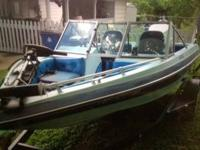 "* Price Minimized *.  Fabuglas FURY boat 15'6"" - with"