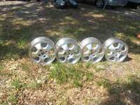 15 inch SET OF RIMS FOR SALE THAT CAME OFF A 1994 HONDA