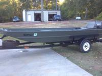 1992 Alweld 15ft 15/42 boat with 40hp Tohatsu 2 stroke