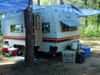 15ft, good tires, stayed in this trailer for 54 days at