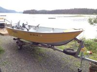 FOR SALE: 15' Duroboat aluminum skiff. Asking $3,000