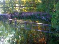 I have a 15ft ladder deer stand. Its a one man stand. I