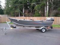 15ft smokercraft and trailer bought new in 2006.  2008