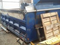 15ft dump body for tandem axle truck, has cab shield,