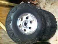 These wheels will fit a 1997 thru 2004 Jeep Wrangler.
