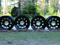 I have for sale 4 15x10 5x5.5 Pro Comp Extreme Steel