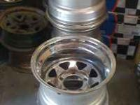 5 15x10 5 on 5.5 used chrome wheels $150.00 for all 5!