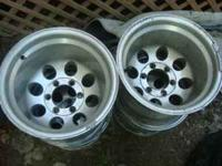 i have a set of 15x12 mickey thompson aluminum wheels