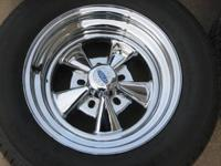 brand new just mounted No Miles 15x8 & 15X6 Cragar SS