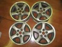 A set of (4) Alloy Wheel for a Jeep Cherokee 15X8