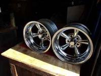 15x8 rims fit smal gm pattern. i only have 2 , they