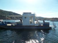 Selling a 2001 14 x 48' party barge equipped with upper
