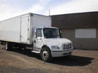 2005 Freightliner M-2 26 foot box truck, 220,000