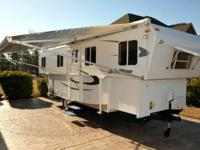 Enjoy camping year round in a TrailManor 2720 SD!