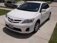 2011 Toyota Corolla LE It is 4 cyl and is great saver