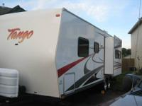 We are selling our 29ft Tango travel trailer. This