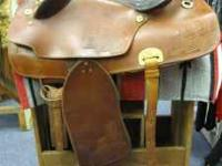 "16 1/2"" Aussie-Western Saddle Cinch Included $199 See"