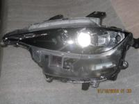 16-17 Mazda Miata drivers side headlight. Factory Mazda