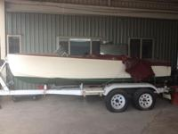 Please contact boat owner Tom at . 1948 Century 16 ft.