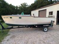 Please call owner Joe at . Boat is in Bloomsdale,