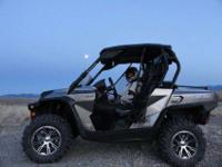 2012 Can-Am Commander 1000 Limited EditionLoaded with