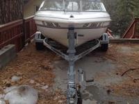 Please call owner Denise at  Boat is on Lake Arrowhead,